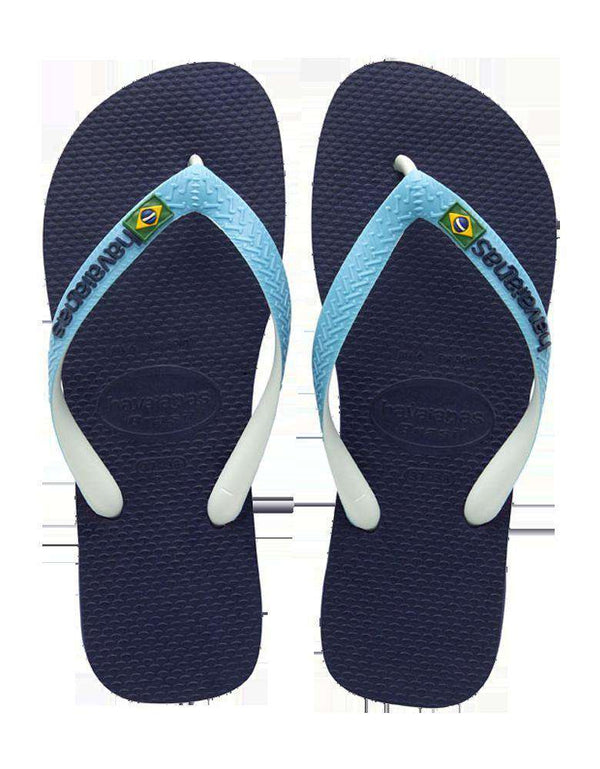 Brazil Mix Sandals in Navy Blue by Havaianas - FINAL SALE