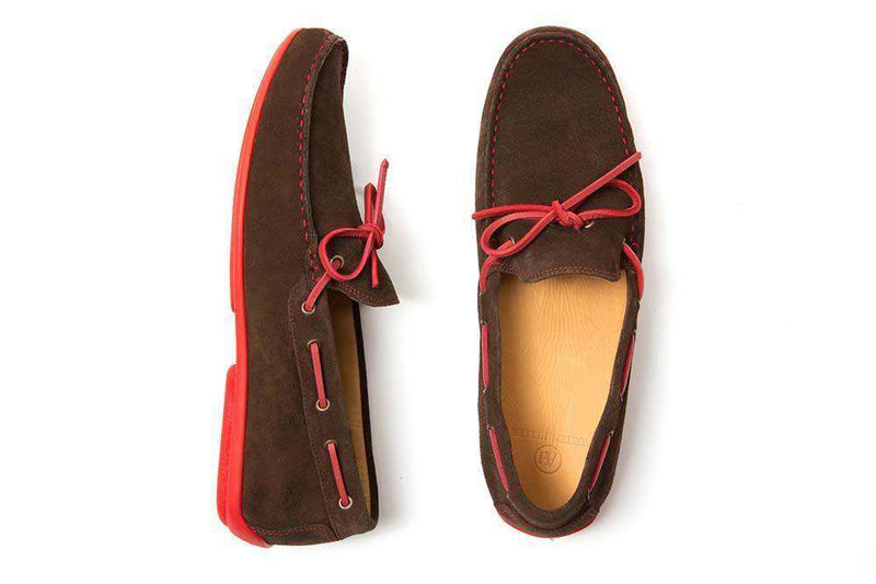 Men's Footwear - Breaker Driving Loafers With Laces By Austen Heller