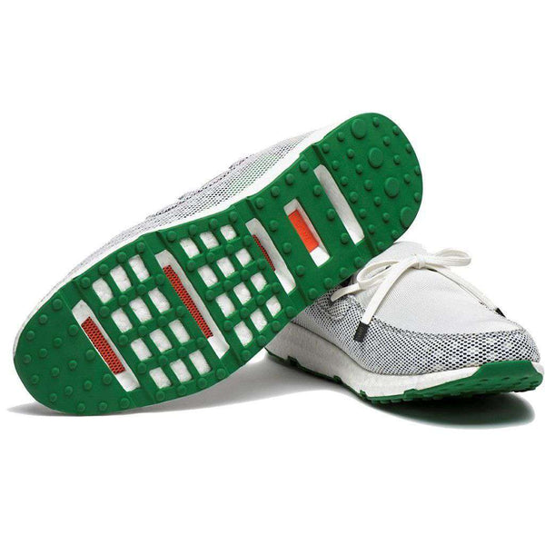 Men's Breeze Leap Laser Loafer in Light Grey, Navy, & Green by SWIMS - FINAL SALE