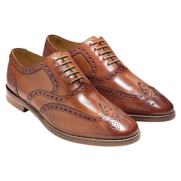 Men's Footwear - Cambridge Wing Oxford In British Tan By Cole Haan