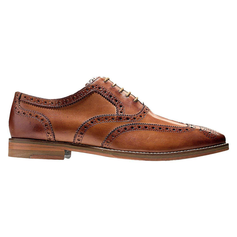 Men's Cambridge Wing Oxford in British Tan by Cole Haan