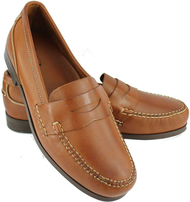 Men's Footwear - Cocktail Hour Loafers In Saddle Tan By Country Club Prep