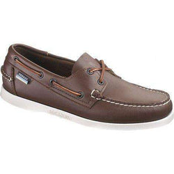 Men's Footwear - Docksides Boat Shoes In Brown Elk By Sebago - FINAL SALE