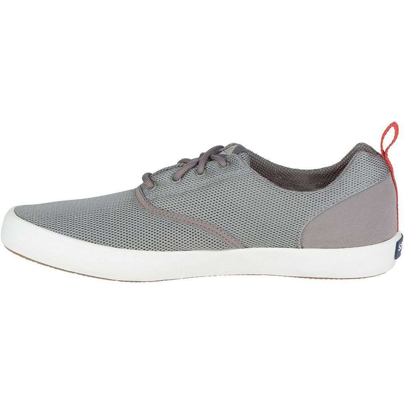 Men's Flex Deck CVO Mesh Sneaker in Grey by Sperry - FINAL SALE