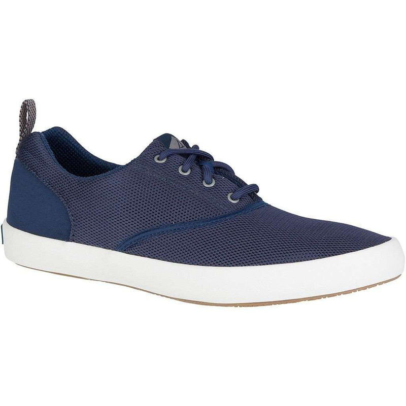 Men's Footwear - Flex Deck CVO Mesh Sneaker In Navy By Sperry - FINAL SALE