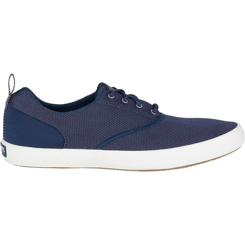 Men's Flex Deck CVO Mesh Sneaker in Navy by Sperry - FINAL SALE