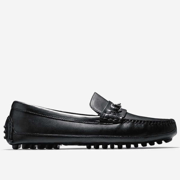 Men's Footwear - Grant Canoe Bit Loafer In Black By Cole Haan