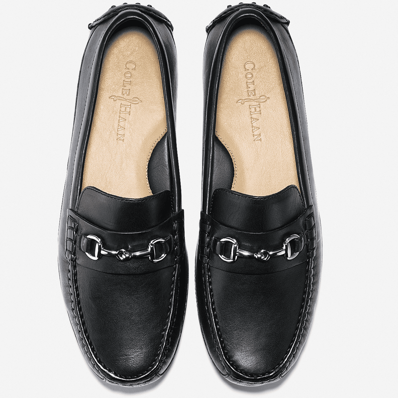 2435824c2c5 Cole Haan Grant Canoe Bit Loafer in Black – Country Club Prep