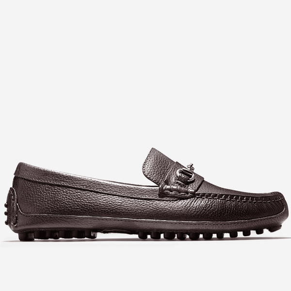 Men's Footwear - Grant Canoe Bit Loafer In T Moro Dark Brown By Cole Haan