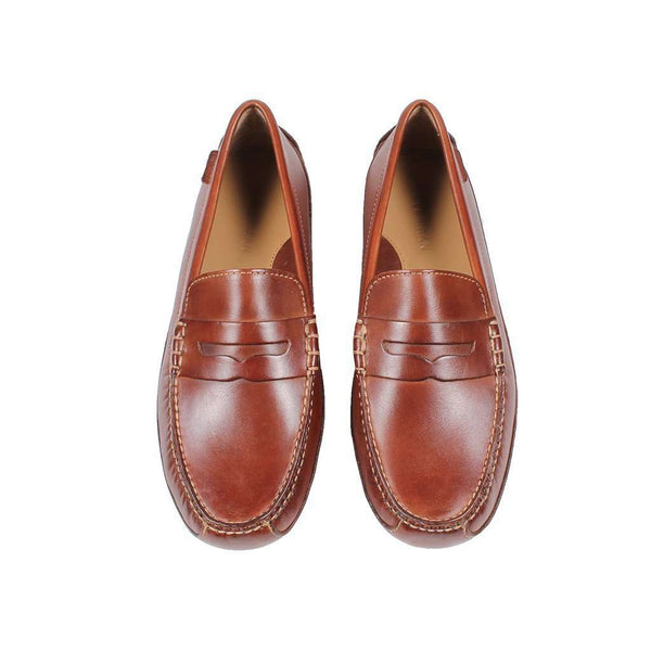 Men's Footwear - Grant Canoe Penny Loafer In Papaya By Cole Haan