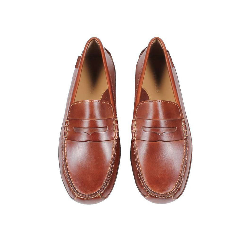bd1ac30ed6f Cole Haan Grant Canoe Penny Loafer in Papaya – Country Club Prep
