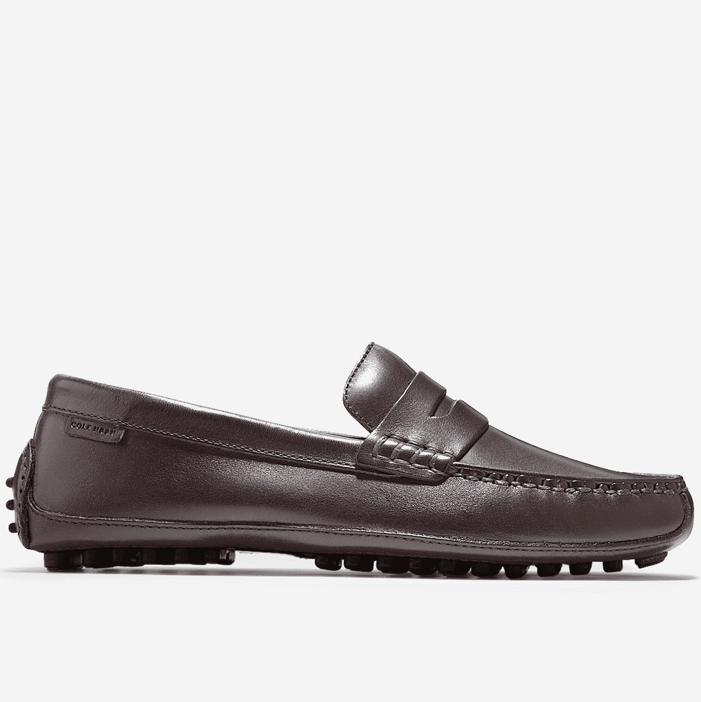 Men's Footwear - Grant Canoe Penny Loafer In T Moro Dark Brown By Cole Haan