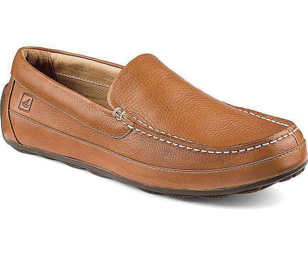 Men's Footwear - Hampden Venetian Loafer In Sahara Brown By Sperry