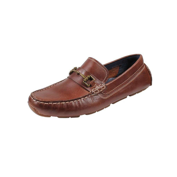 Men's Footwear - Kelson Bit Driver In British Tan By Cole Haan