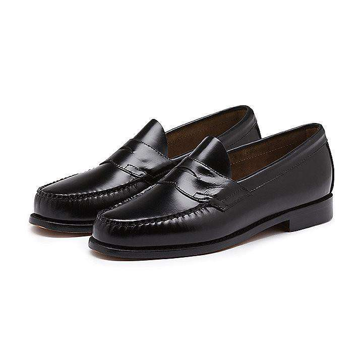 Men's Logan Weejuns in Black by G.H. Bass & Co.