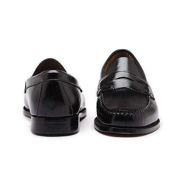 Men's Footwear - Logan Weejuns In Black By G.H. Bass & Co.