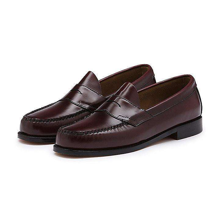 Men's Footwear - Logan Weejuns In Burgundy By G.H. Bass & Co.