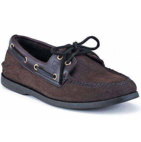 Men's Footwear - Men's Authentic Original Boat Shoe In Brown Buc By Sperry