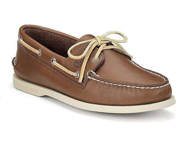 Men's Footwear - Men's Authentic Original Boat Shoe In Tan By Sperry