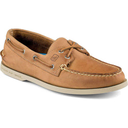 Men's Footwear - Men's Authentic Original Cross Lace 2-Eye Boat Shoe In Tan By Sperry