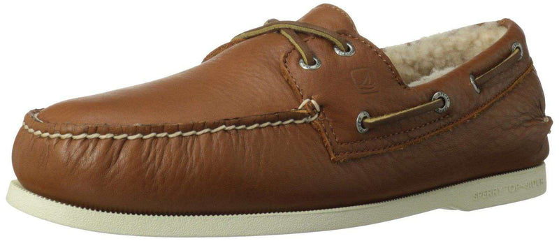 Men's Footwear - Men's Authentic Original Winter Boat Shoe In Tan By Sperry