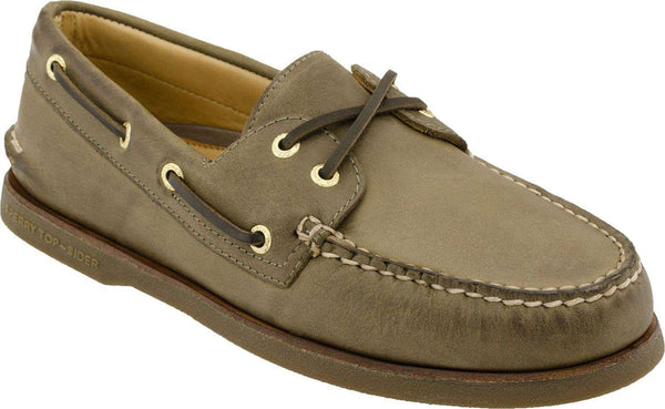 Men's Footwear - Men's Gold Cup A/O 2 Eye Boat Shoe In Dark Tan By Sperry