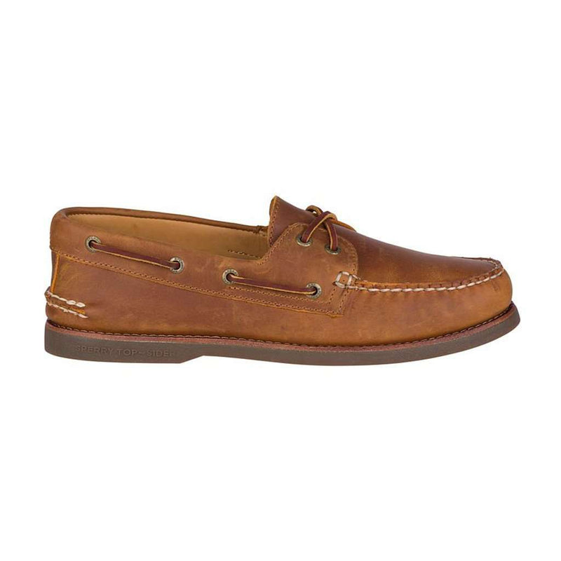 Men's Footwear - Men's Gold Cup Authentic Original Boat Shoe In Tan/Gum By Sperry