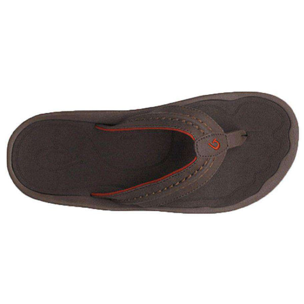 Men's Hokua Sandal in Dark Java by Olukai - FINAL SALE
