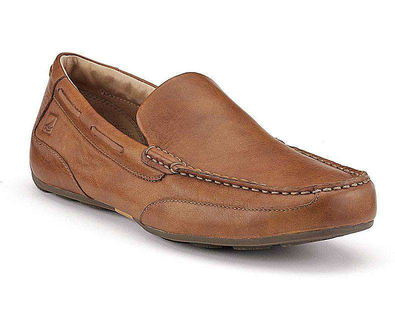 Men's Footwear - Men's Navigator Venetian Shoe In Tan By Sperry