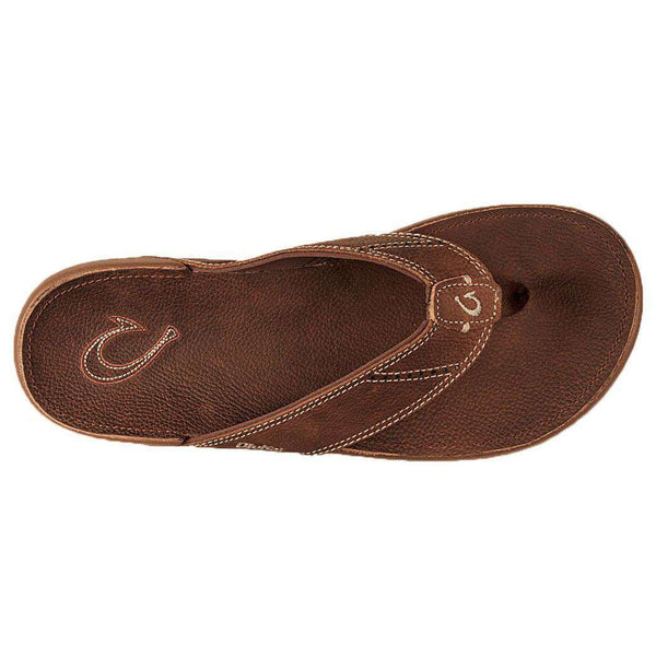 Men's Nui Sandal in Rum Brown by Olukai - FINAL SALE