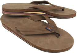 ad19047d8b4c Men s Footwear - Men s Premier Leather Double Layer Arch Sandal In Expresso  By Rainbow Sandals