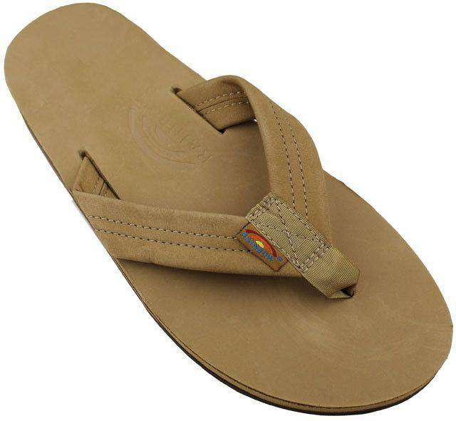 771175f4d724 Men s Footwear - Men s Premier Leather Double Layer Arch Sandal In Sierra  Brown By Rainbow Sandals