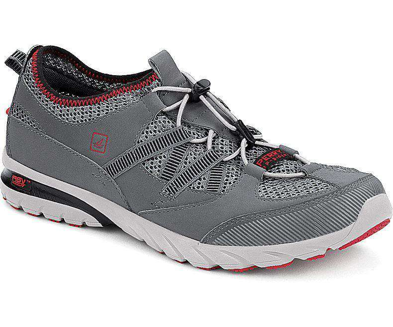 Men's Footwear - Men's Shock Light ASV Bungee Sneaker In Dark Gray By Sperry