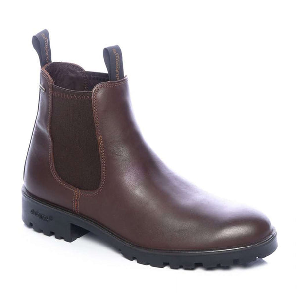 Men's Footwear - Men's Wicklow Ankle Boot In Mahogany By Dubarry