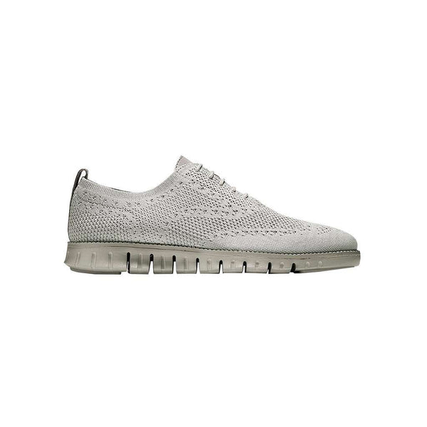 Men's Footwear - Men's ZERØGRAND Stitchlite Lined Wingtip Oxford In Rockridge Knit By Cole Haan