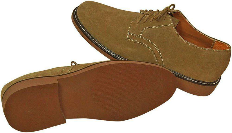 Men's Million Bucks in Dirty Suede by Country Club Prep