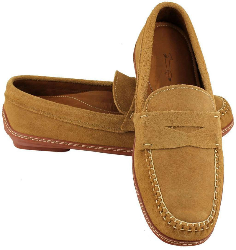 Men's Footwear - MoneyPenny Loafers In Dirty Buck Suede By Country Club Prep