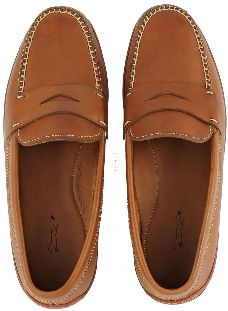 Men's Footwear - MoneyPenny Loafers In Tan Waxy By Country Club Prep
