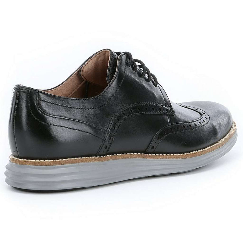 b7979cc0588 Men's Footwear - Original Grand Wingtop Oxford In Black And Ironstone By Cole  Haan