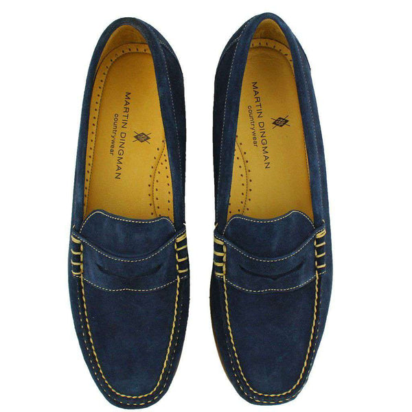 Pierson Loafer in Navy by Martin Dingman - FINAL SALE