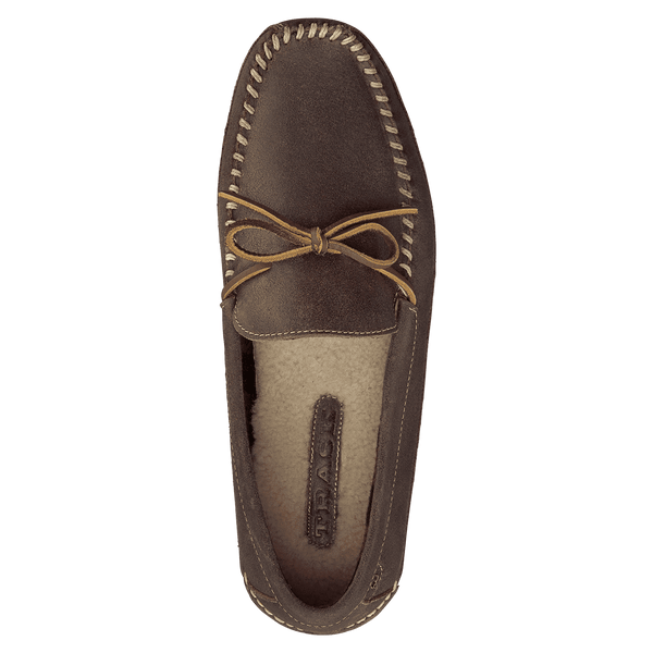 Men's Polson Loafer in Walnut American Steer by Trask