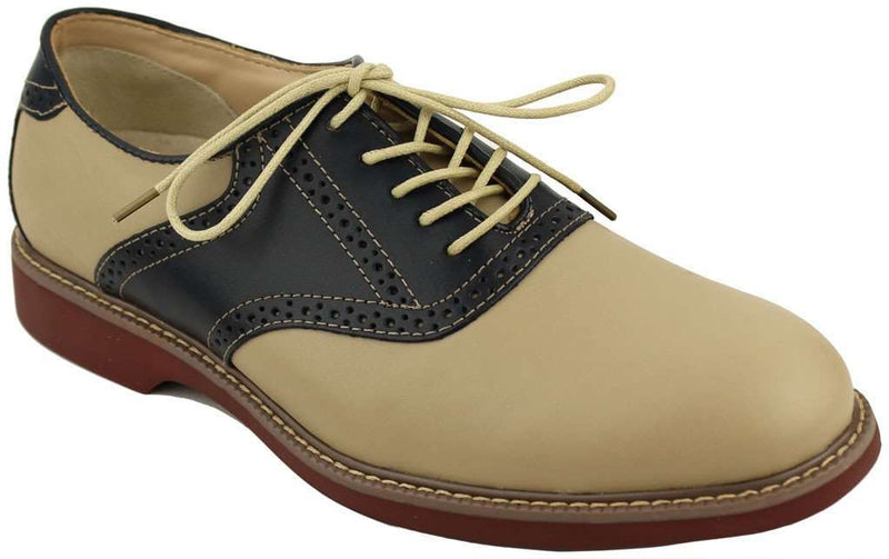 Men's Footwear - Pomona Two-Tone Buc In Navy And Hemp By G.H. Bass & Co.