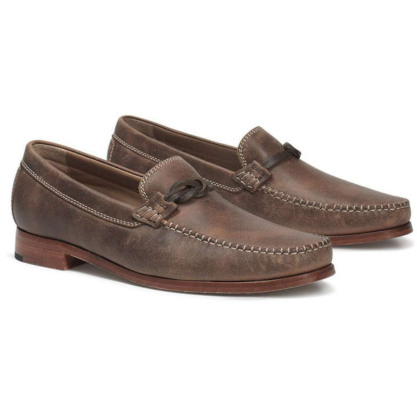 Men's Footwear - Sawyer Loafer In Brown American Steer By Trask