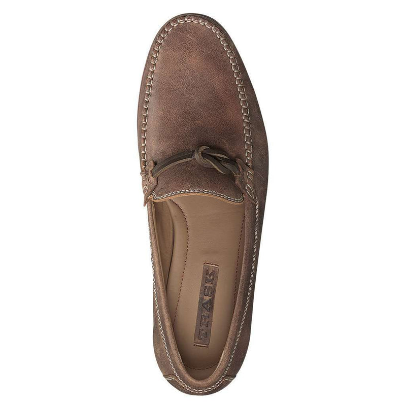 Men's Sawyer Loafer in Brown American Steer by Trask