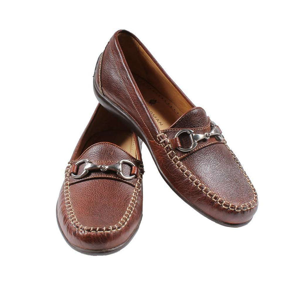 5b4df5cabfa Men s Footwear - Saxon Horse Bit Loafer In Scotch Grain Leather By Martin  Dingman - FINAL ...