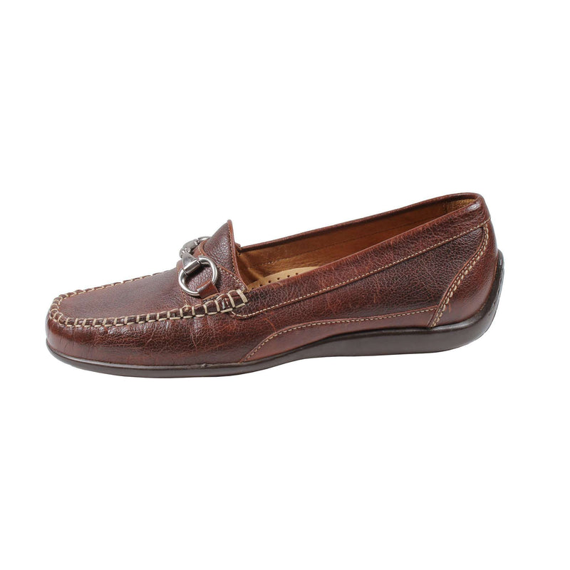 Saxon Horse Bit Loafer in Scotch Grain Leather by Martin Dingman - FINAL SALE