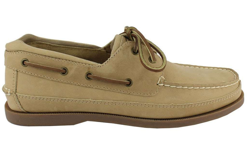 Men's Footwear - Sigma Pi Yachtsman Boat Shoes In Oak By Category 5