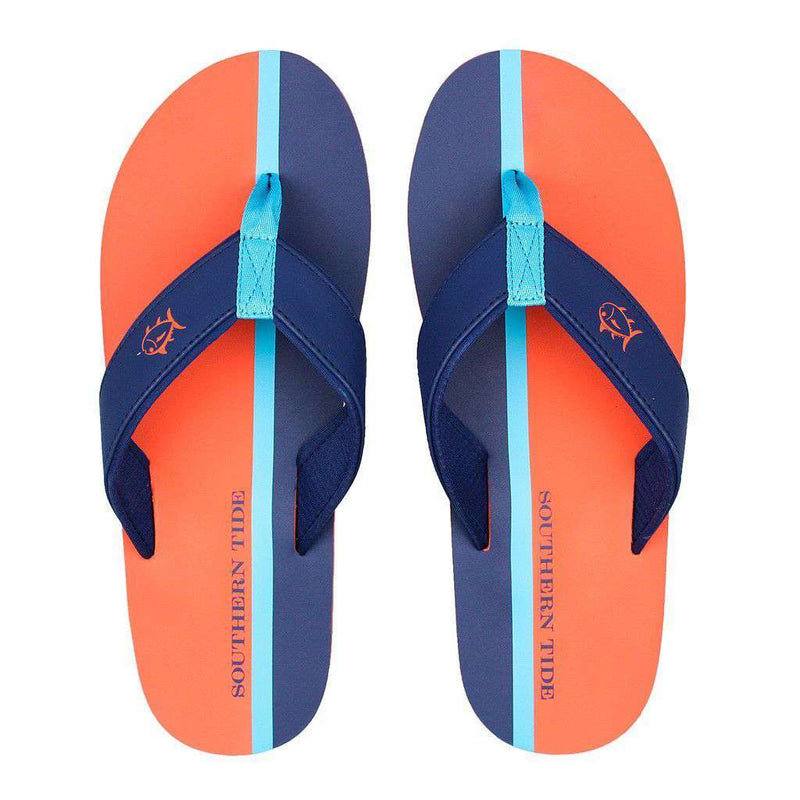 Men's Surfside Flipjacks in Island Orange by Southern Tide