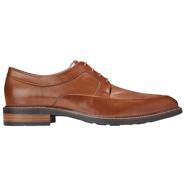 Men's Footwear - Warren Apron Oxford In British Tan By Cole Haan