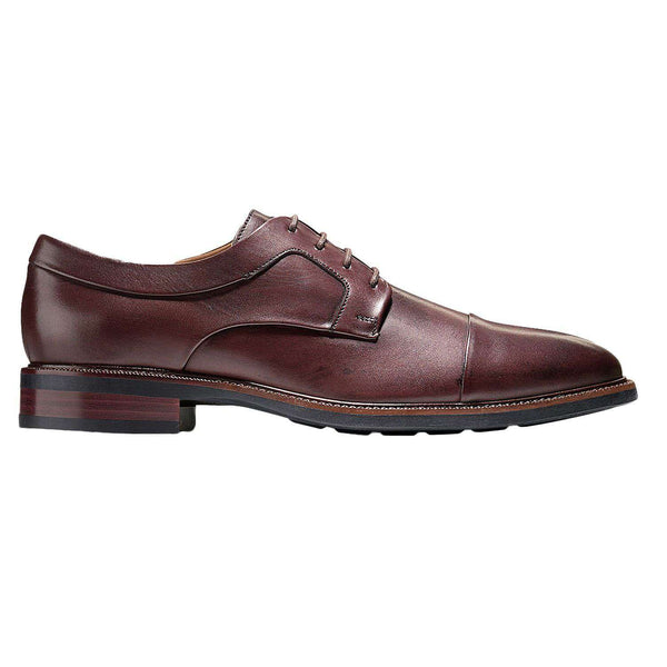 Men's Footwear - Warren Cap Toe Oxford In T Moro Dark Brown By Cole Haan